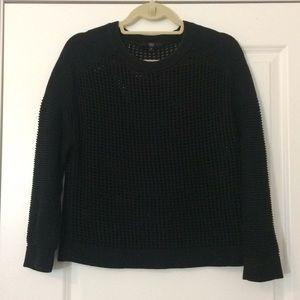 Tibi Open Knit Sweater